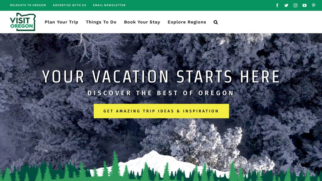 Visit Oregon Website